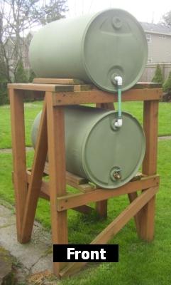 The Rainbarrel Man Garden Irrigation System