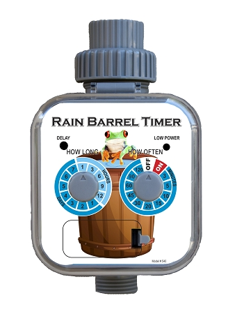 The Rainbarrel Man Solar Rain Barrel Timer
