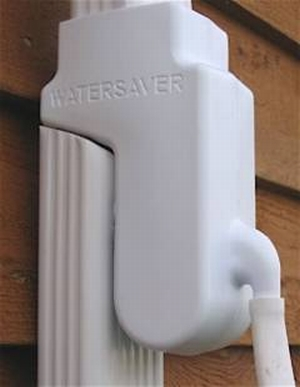 The Rainbarrel Man Water Saver Diverter